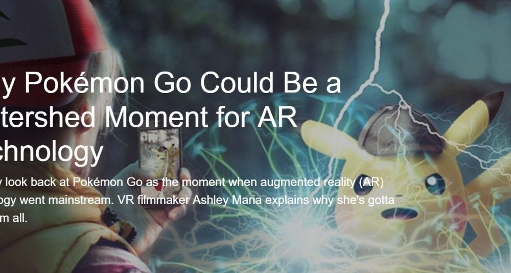 Bringing AR & VR into the public consciousness…